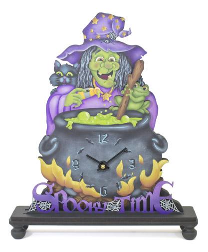 Spooky Time Clock DVD & Pattern Packet - Jeanne Bobish