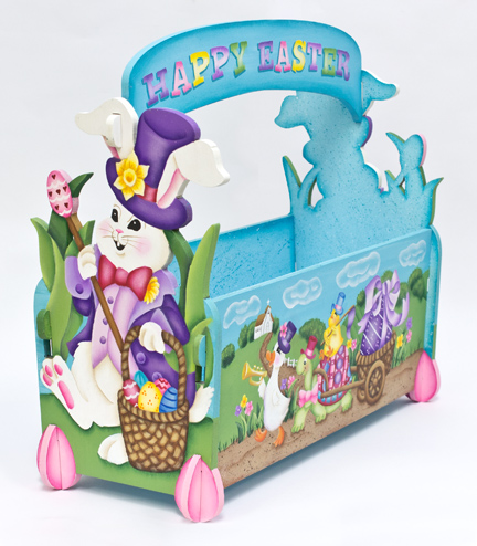 Easter Parade Basket DVD & Pattern Packet - Jeanne Bobish
