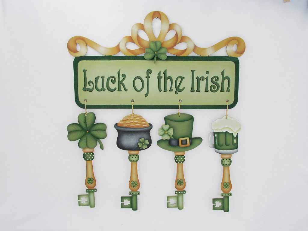 Luck of the Irish Keys and Banner - E-Packet - Jeanne Bobish