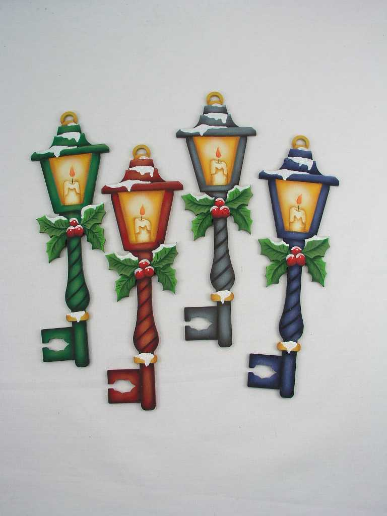 Lantern Key with Holly - E-Packet - Jeanne Bobish