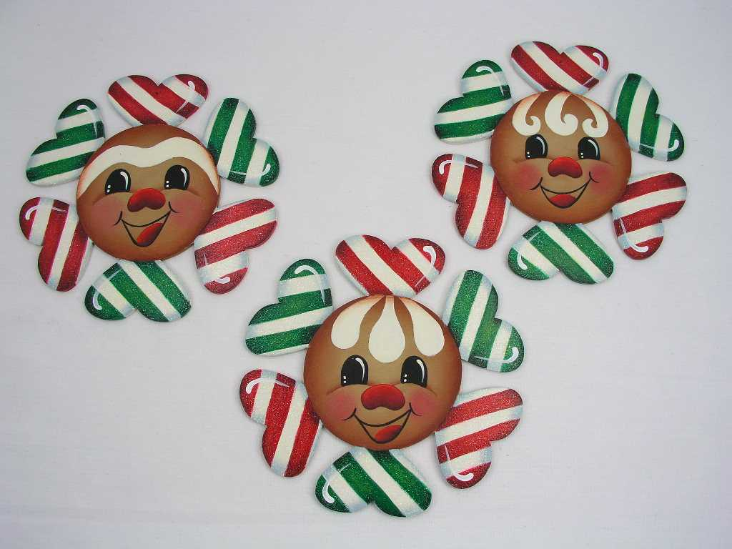 Hearty Peppermint Gingers - E-Packet - Jeanne Bobish