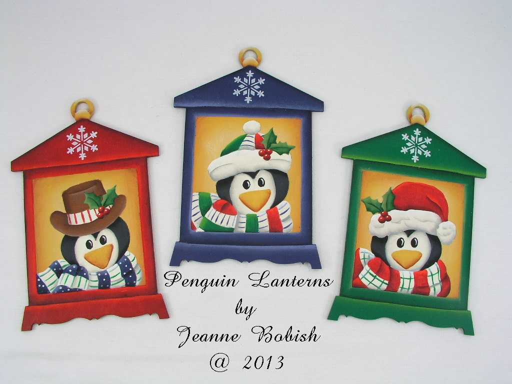 Penguin Lanterns - E-Packet - Jeanne Bobish
