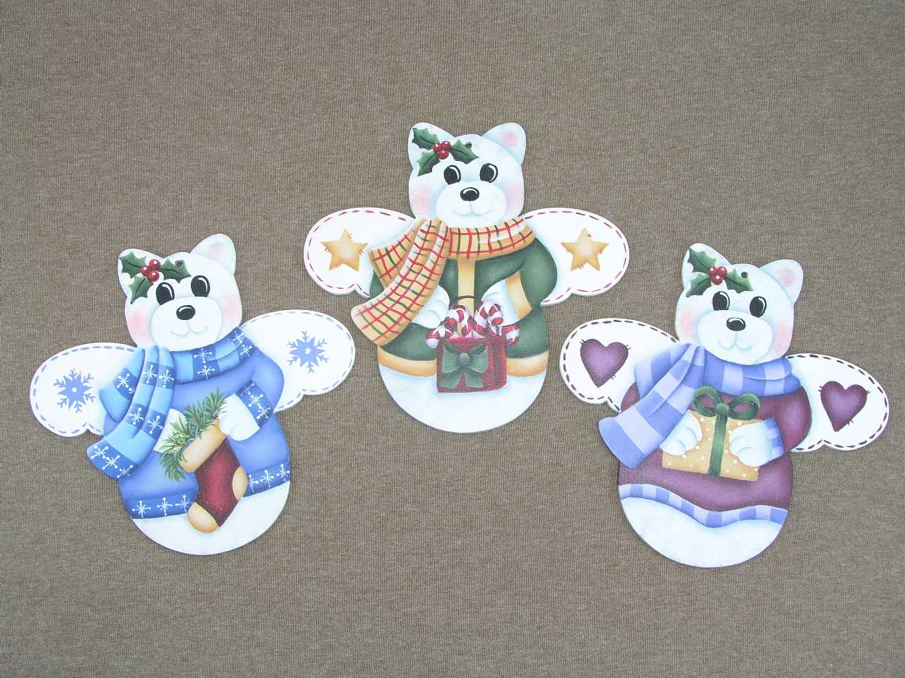 Beary Cute Angels - E-Packet - Jeanne Bobish
