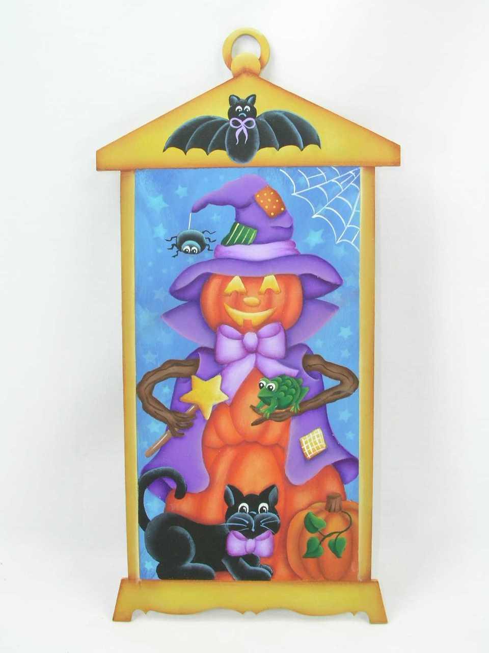 Pumpkin Witch Lantern - E-Packets - Jeanne Bobish