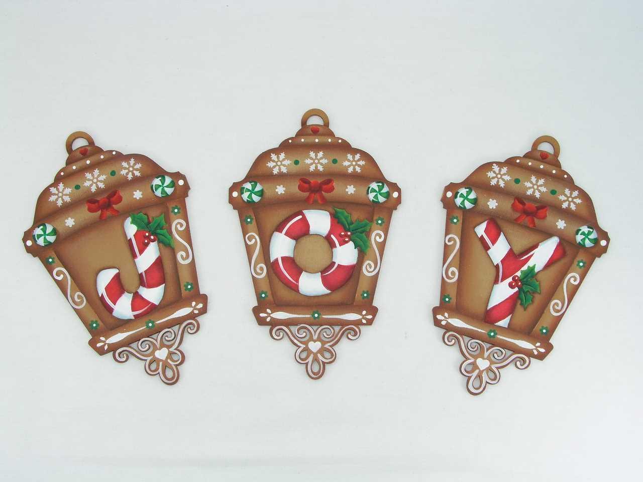 Gingerbread Joy Lanterns - E-Packets - Jeanne Bobish