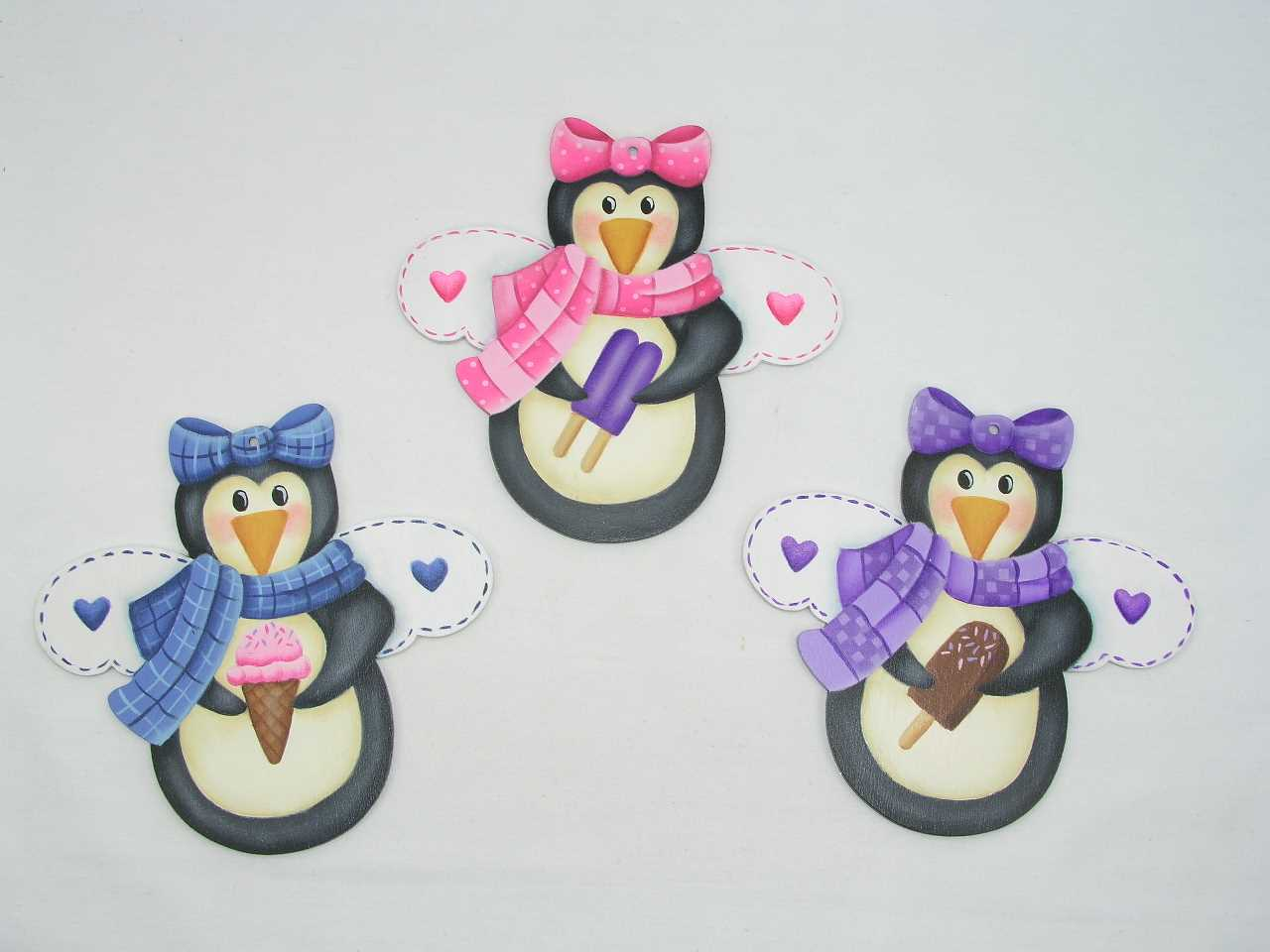 Sweet Treat Penguin Angels - E-Packet - Jeanne Bobish