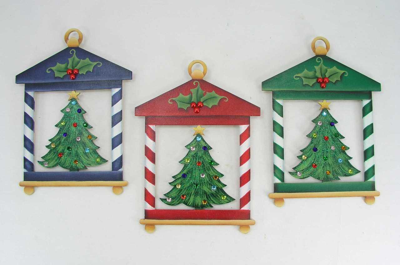 Christmas Tree Lanterns - E-Packet - Jeanne Bobish