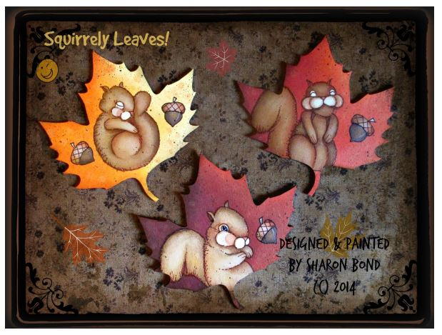 Squirrely Leaves! - E-Packet - Sharon Bond