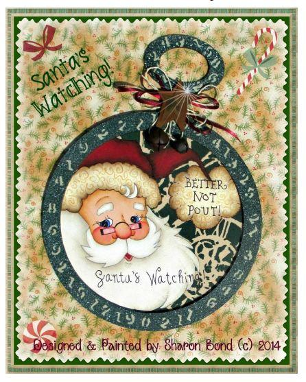 Santa's Watching! - E-Packet - Sharon Bond