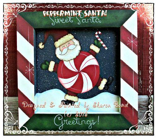 Peppermint Santa! - E-Packet - Sharon Bond