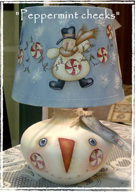 Peppermint Cheeks Lamp E-Packet - E-Packet- Deb Antonick