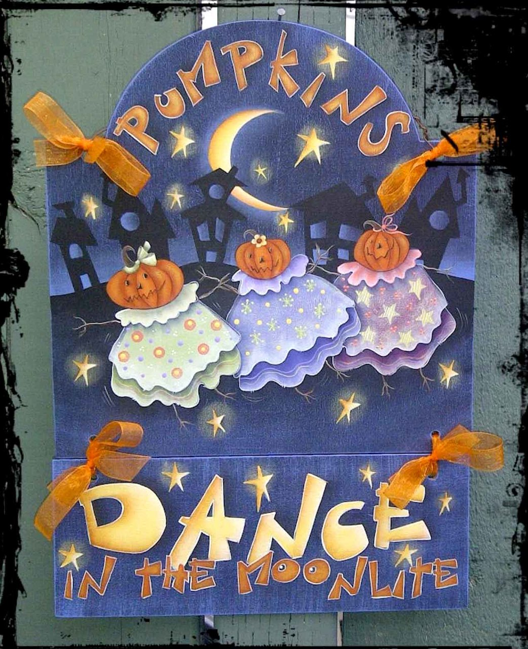 Pumpkins Dance In The Moonlite - E-Packet - Deb Antonick