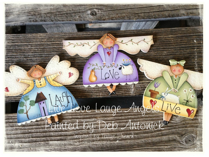 Live Love Laugh Angels- E-Packet - Deb Antonick