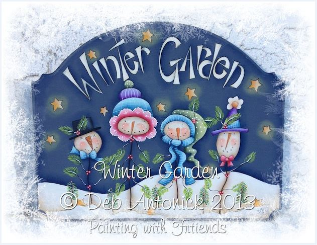 Winter Garden - E-Packet - Deb Antonick
