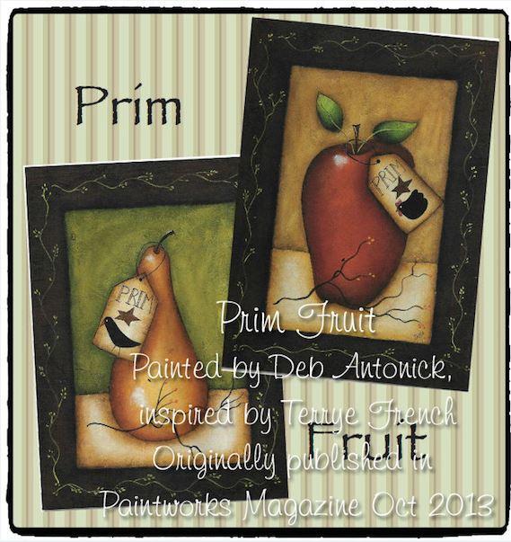 Prim Fruit - E-Packet - Deb Antonick