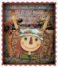 Mr. Sunflower Smiles - E-Packet - Deb Antonick
