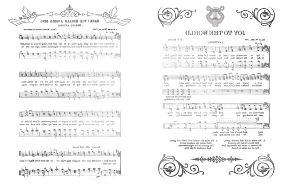 Sing of Joy Transfer Paper - B & W 10x16