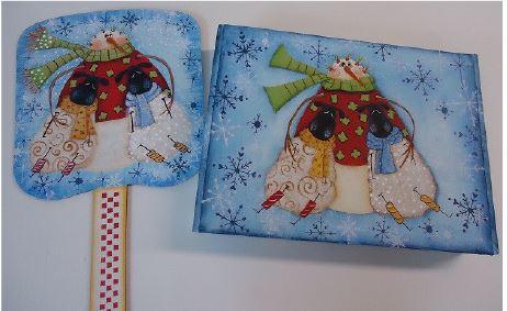 Winter Friends Fan - E-Packet - Betty Bowers
