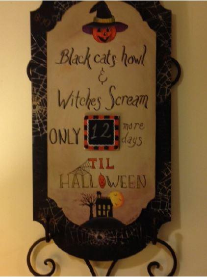 Halloween Countdown - E-Packet - Vera Collier