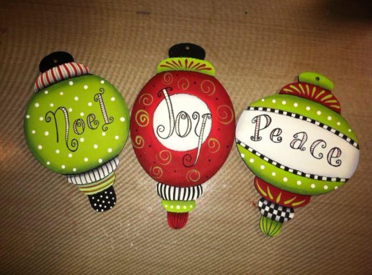 Whimsical Ornament Trio - E-Packet - Vera Collier
