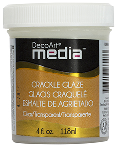 DecoArt Media Clear Crackle Glaze
