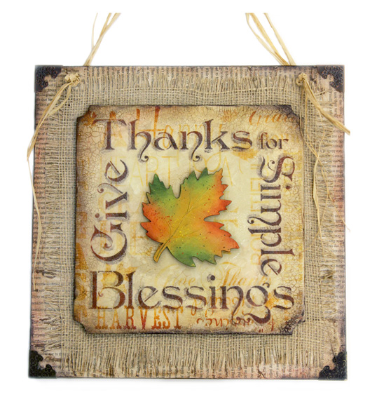 Simple Blessings Pattern Packet