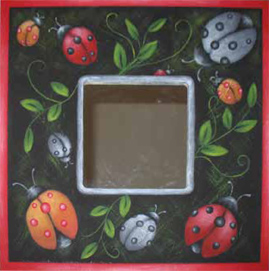 I Love Ladybugs Mirror - E-Packet - Beverly Maitland