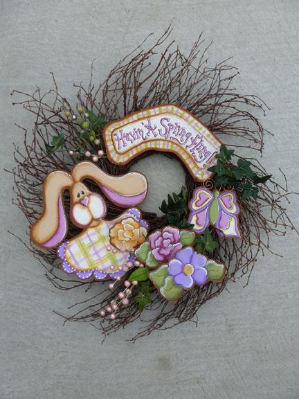Havin' A Spring Fling Wreath - E-Packet - Cat Davis