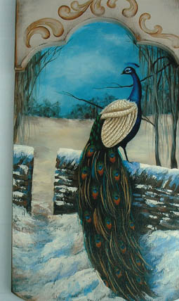 Blue India Peacock - E-Packet - Patty Stouffer