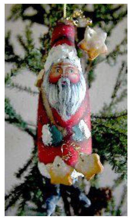 Star Catcher Santa Ornament - E-Packet - Dottie Kuhl