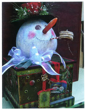 Snowman Box - E-Packet - Sonja Richardson