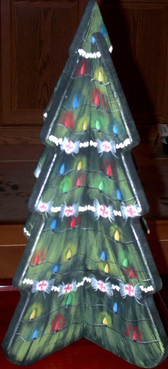 Modern Christmas Tree - E-Packet - Ann Perz