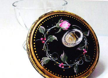 Rosebud Candy Dish E-Packet - Beth Wagner