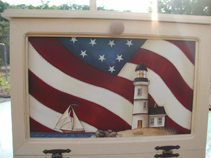 Americana Lighthouse E-Packet - Vera Collier