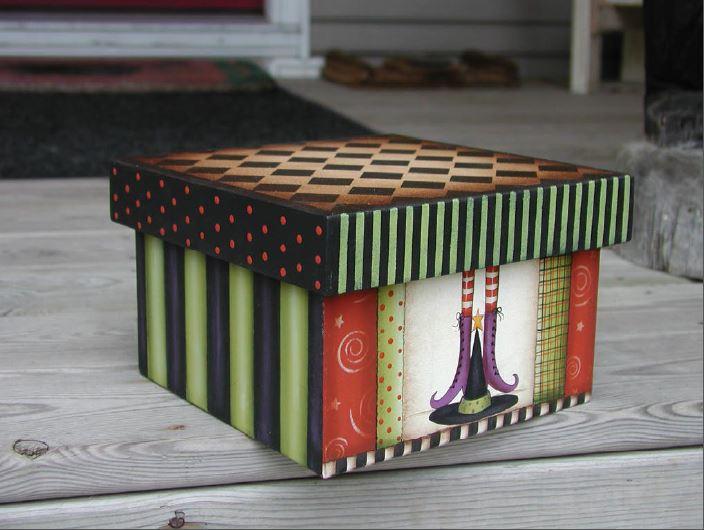 Witchie's Treasure Box - E-Packet - Vera Collier