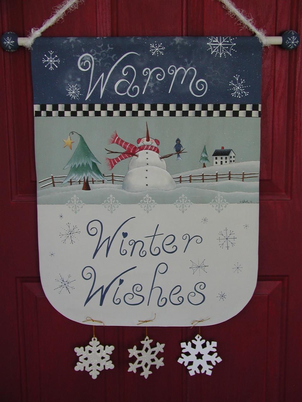 Warm Winter Wishes - E-Packet - Vera Collier