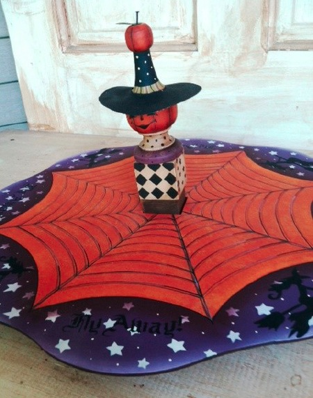 Halloween Lazy Susan - E-Packet - Vera Collier