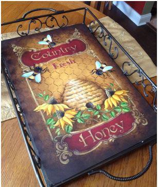 Country Honey Anyway Tray - E-Packet - Tracy Moreau