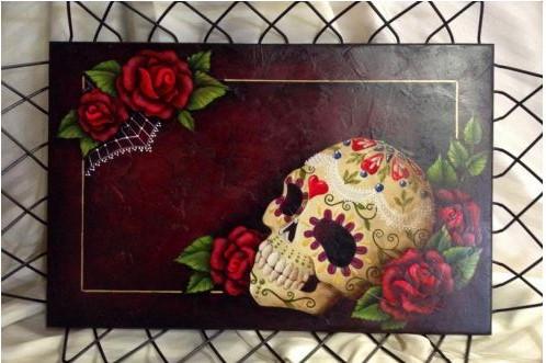 Sugar Skull and Roses - E-Packet - Tracy Moreau