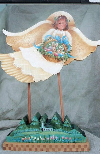 Spring Easter Angel - E-Packet - Yvonne Kresal