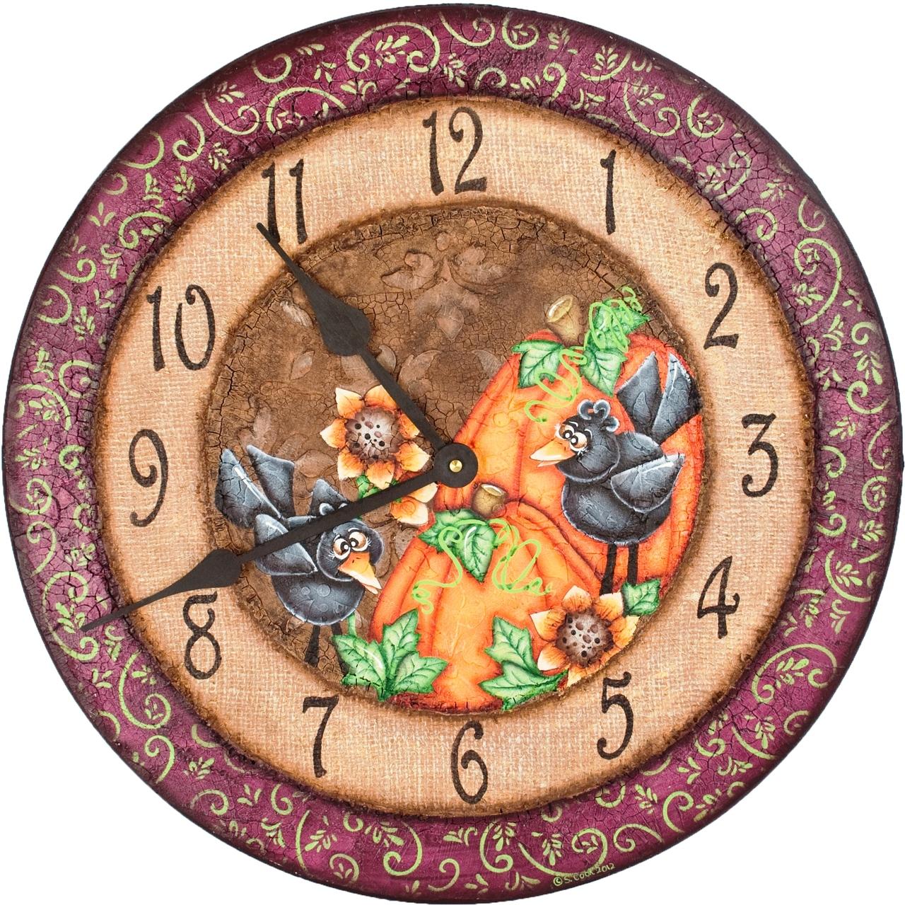 Fabulous Fall Clock - E-Packet - Sharon Cook