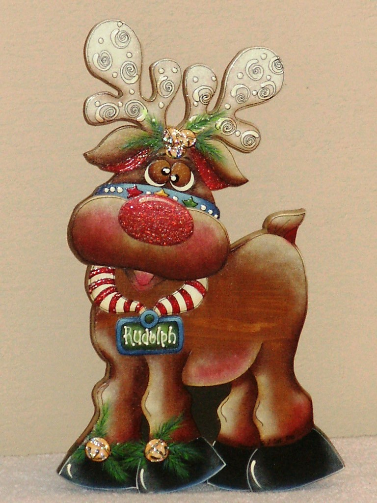 Rudolph the Reindeer - E-Packet - Sharon Cook