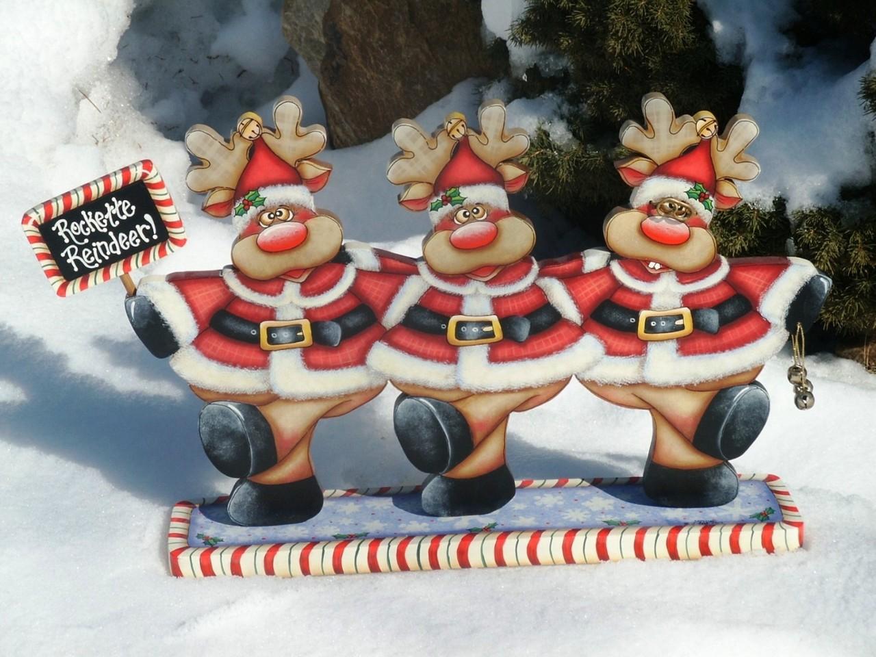 Rockette Reindeer - E-Packet - Sharon Cook