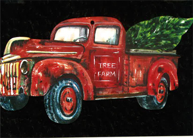 Tree Farm: Christmas Ornament - E-Packet - Debbie Cotton