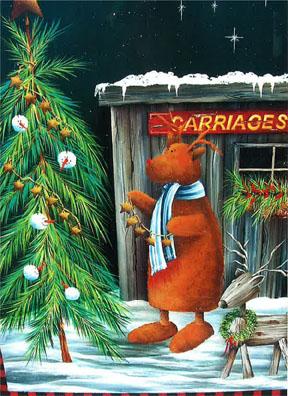 Winter Reindeer - E-Packet - Debbie Cotton