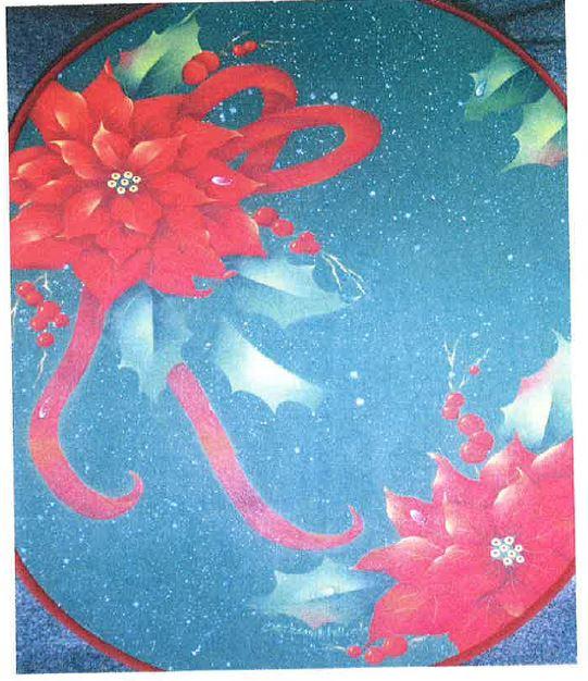 Christmas Poinsettias - E-Packet - Bobbie Campbell