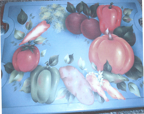 Garden Fresh Casserole Dish Holder - E-Packet - Bobbie Campbell