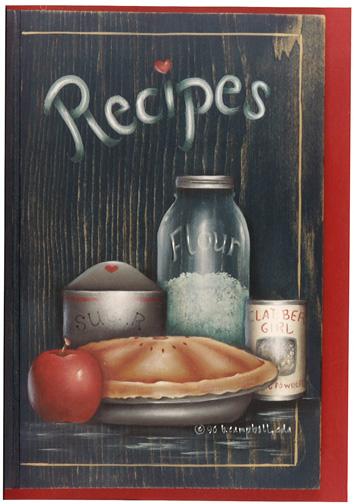 Blue Ribbon Recipe Book - E-Packet - Bobbie Campbell