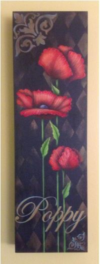 Copper and Gold Poppies - E-Packet - Tracy Moreau