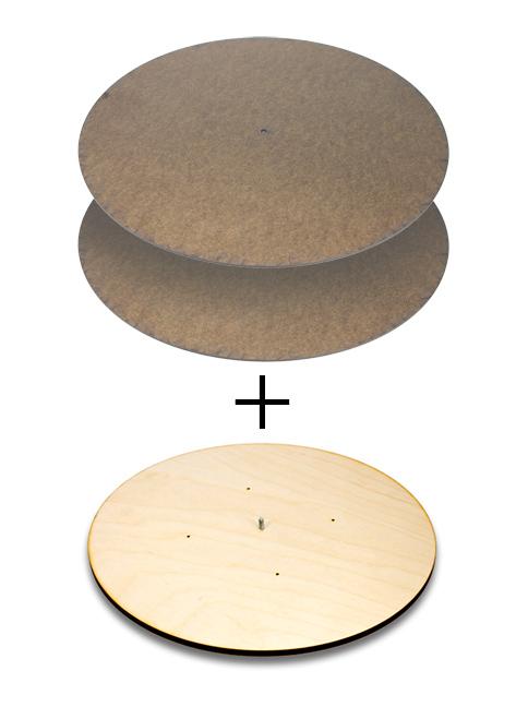 Four Season Lazy Susan / Round Panels